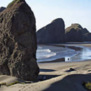 Cape Sebastian - Hunters Cove Area- Oregon Coast Art Print