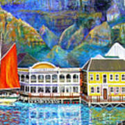 Cape Waterfront Art Print by Michael Durst
