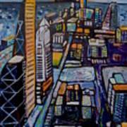 Capital City Art Print