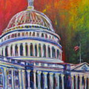 Capitol Closing Art Print
