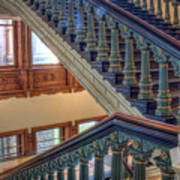 Capitol Stairwell Art Print