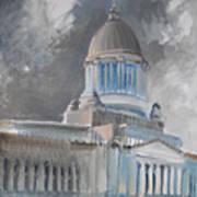 Capitol Turmoil Art Print