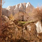 Cappadocia Dovecotes Art Print