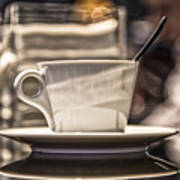 Cappuccino In Milan Art Print
