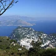 Capri At The Top Art Print