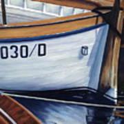 Capri Boats Art Print