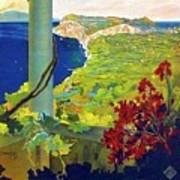 Capri, Italy, Italian Riviera, Scenery Art Print