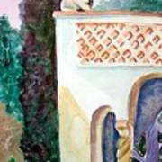 Capri Sphinx Art Print