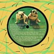 Captain And Tennille Greatest Hits Lp Label Art Print