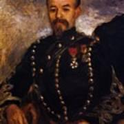 Captain Edouard Bernier 1871 Art Print