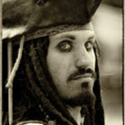 Captain Jack Sparrow Art Print by David Patterson