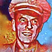 Captain Ronald Reagan Art Print