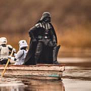 Captain Vader Art Print