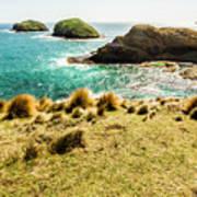 Captivating Coastal Cliff Art Print