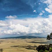 Capulin Volcano View New Mexico Art Print