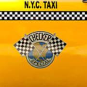 Car - City - Nyc Taxi Art Print
