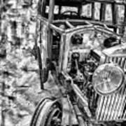 Car Comp 1a Art Print