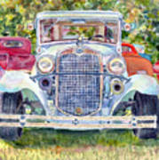 Car Show Art Print