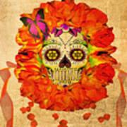 Cara De La Flor Art Print