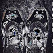 Carbon Footprint Art Print