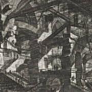 Carceri Series, Plate Xiv Art Print