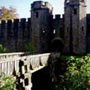 Cardiff Castle Gate Art Print