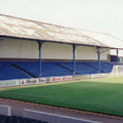 Cardiff - Ninian Park - North Stand 2 - August 1993 Art Print