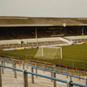 Cardiff - Ninian Park - West Stand 2 - 1969 Art Print
