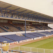 Cardiff - Ninian Park - West Stand 4 - October 1993 Art Print