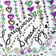 Caregivers Spread Joy Art Print