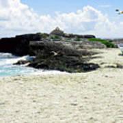 Caribbean Beach Scenic Art Print