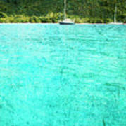 Caribbean Cruising Art Print