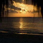 Caribbean Early Sunrise 5 Art Print