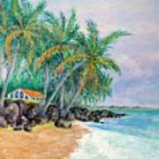 Caribbean Retreat Art Print