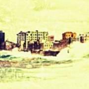 Caribbean Waves Art Print