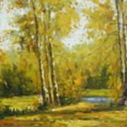 Cariboo Gold Art Print
