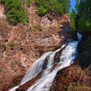 Caribou Falls Art Print