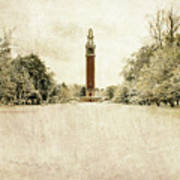 Carillon In The Snow Art Print