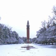 Carillon In Winter Art Print