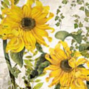 Carina Sunflowers Art Print