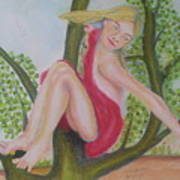 Carla Art Print