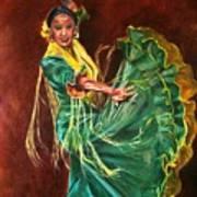 Carlota Art Print
