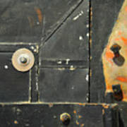 Carlton 10 - Firedoor Detail Art Print