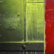 Carlton 6 - Firedoor Abstract Art Print