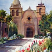 Carmel Mission Basilica Art Print
