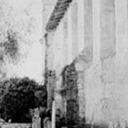 Carmel Mission Cemetery Art Print