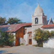 Carmel Mission Art Print