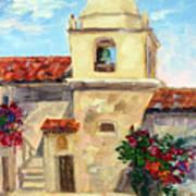 Carmel Mission, Summer Art Print