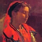 Carmelita Requena 1870 Art Print