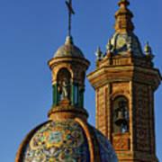 Carmen Chapel Seville Spain Art Print